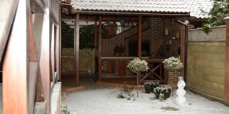 Село Песчаное, крым, отели с бассейном и барбекю