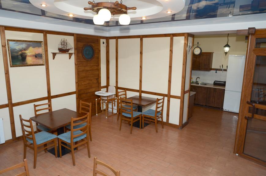 Кухня отеля в Крыму